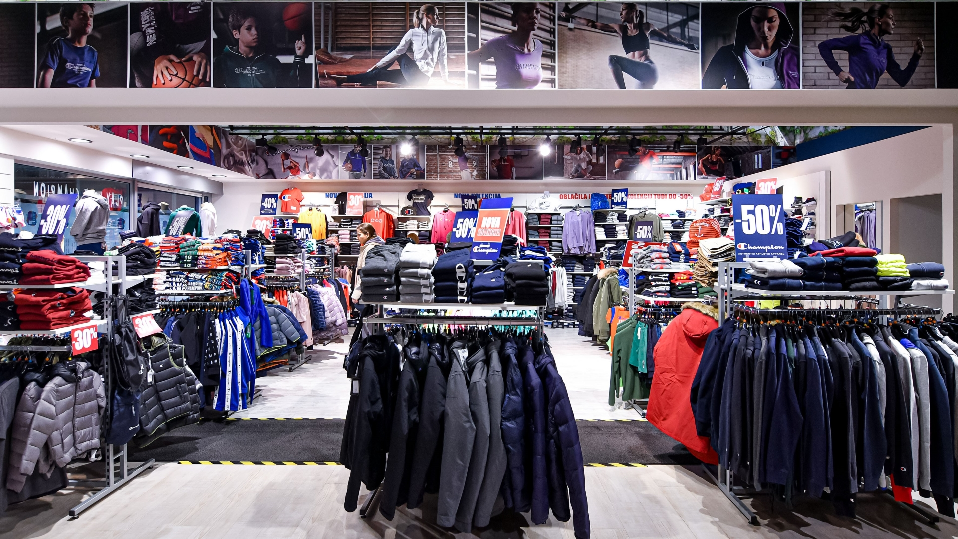 Champion Mega Outlet Store BTC