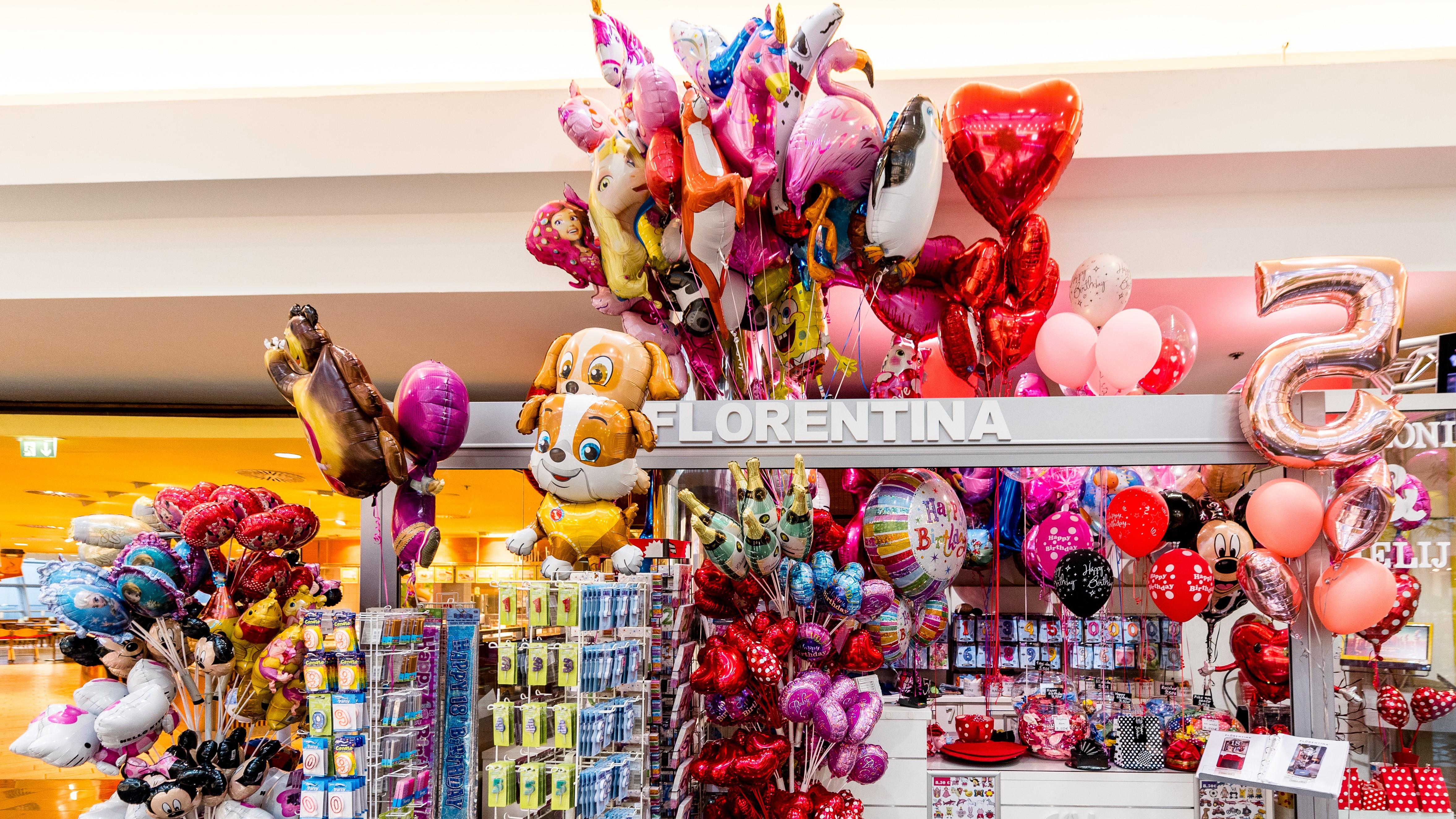 Florentina dežela balonov