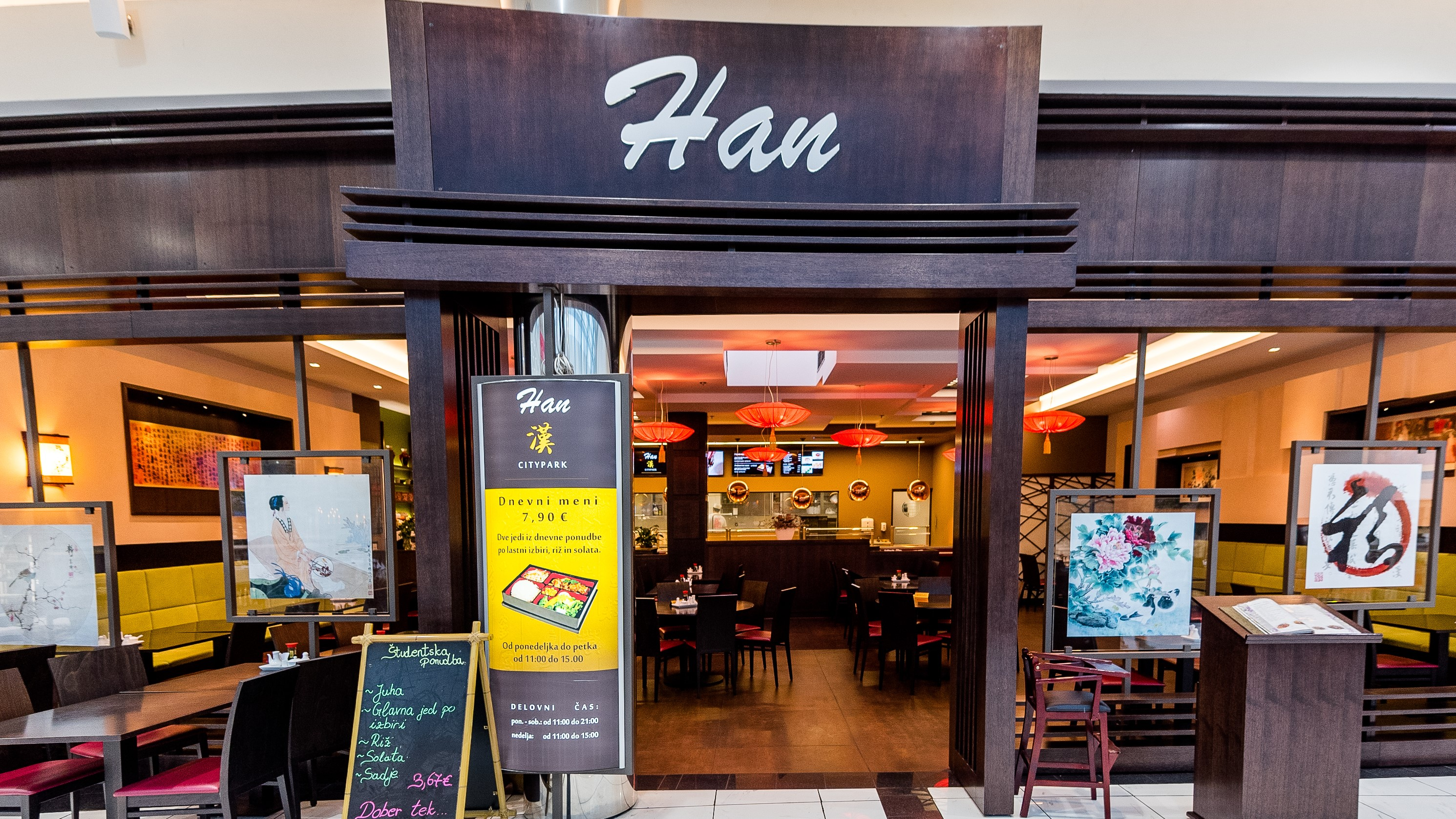 Kitajska restavracija Han