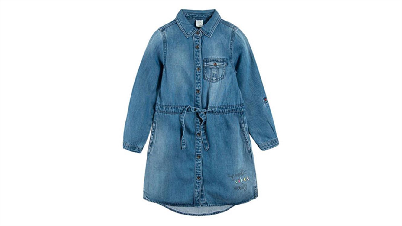 Jeans obleka-64