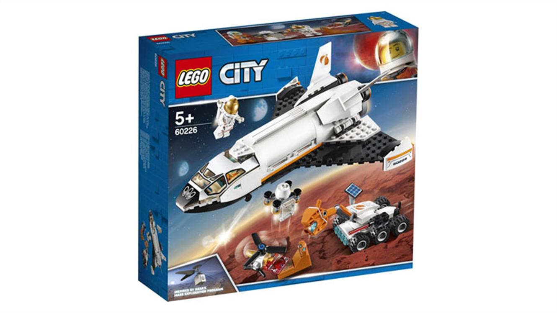 Lego City Vesoljski čolnič za raziskovanje Marsa-91