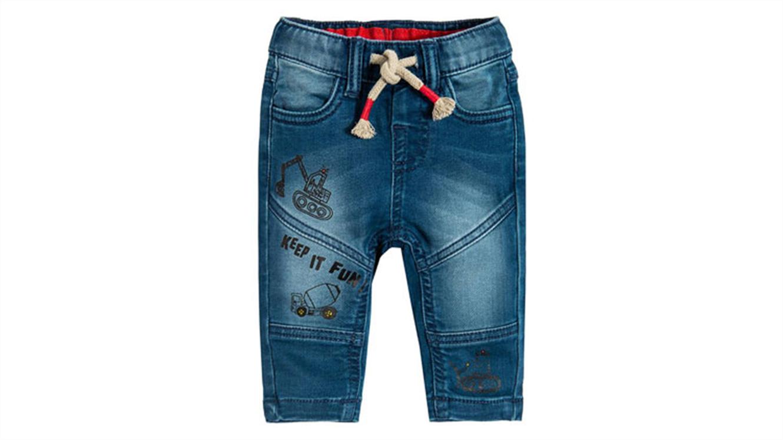 Fantovske jeans hlače-99