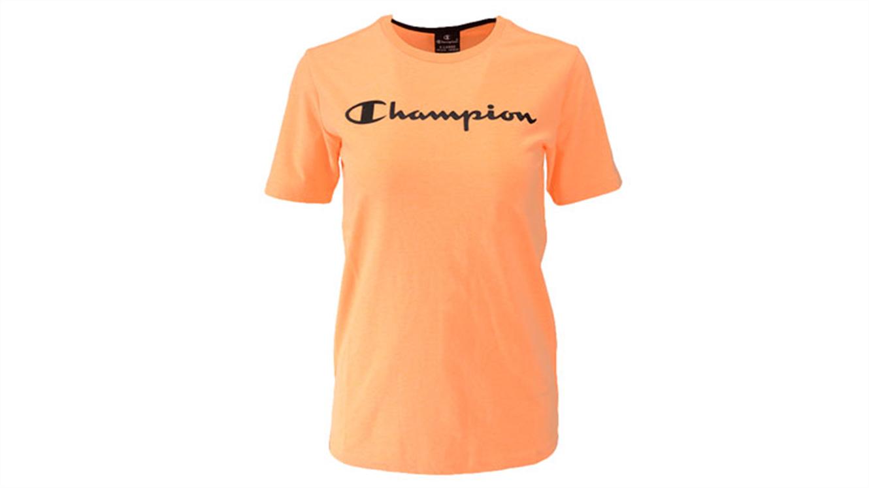 Fantovska športna majica s kratkimi rokavi Champion® 305194 - fluo oranžna-134
