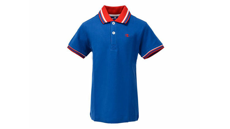 Otroška polo majica Champion® 304608 kratek rokav - svetlo modra OLB-151