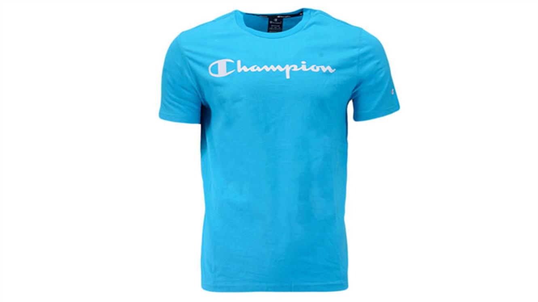 Otroška športna majica Champion® 305169 kratek rokav - modra-156