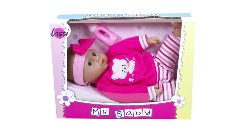 Dojenček Lissi s stekleničko-282