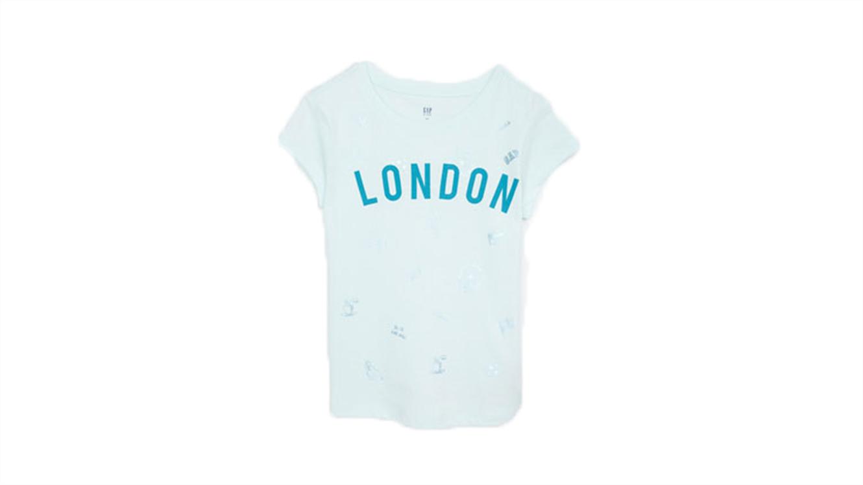 Dekliška majica s kratkimi rokavi s potiskom-293