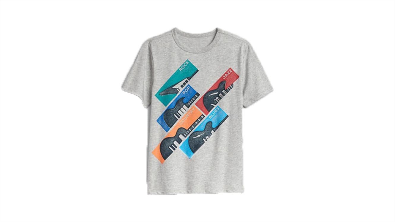 Fantovska majica s kratkimi rokavi s potiskom-303