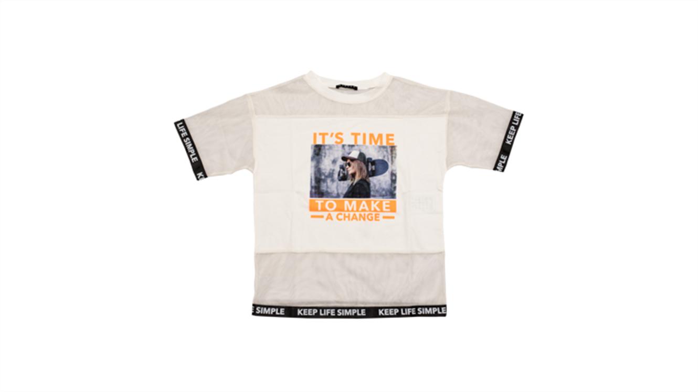 Dekliška majica Sisley-319