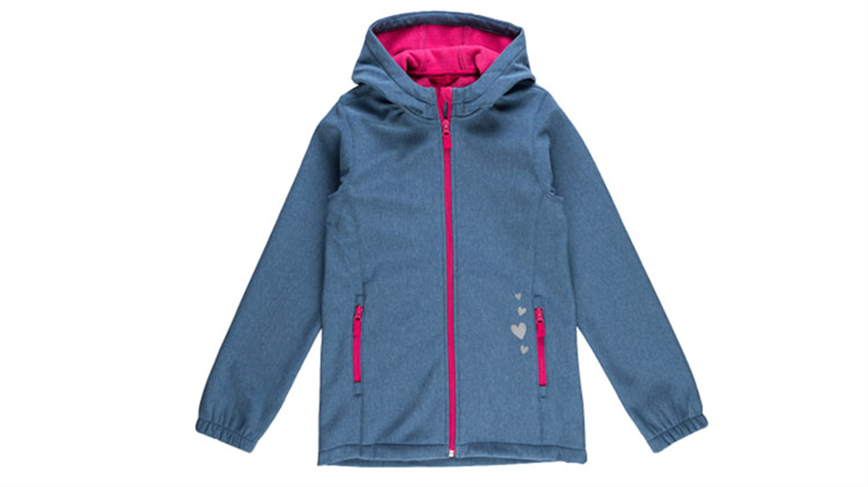 Dekliška jakna windstopper-424