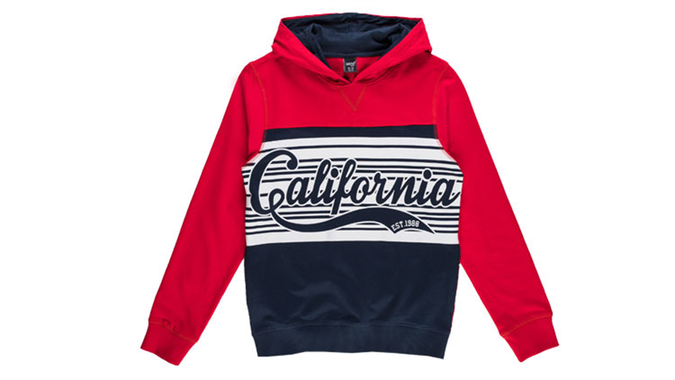 Fantovski pulover s kapuco-435