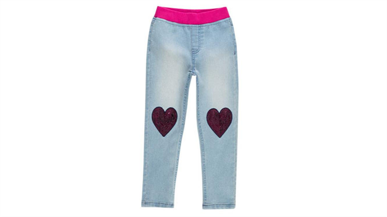 Dekliške jeans hlače-454