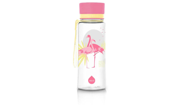 Equa Flamingo steklenička, brez BPA, 600 ml-534