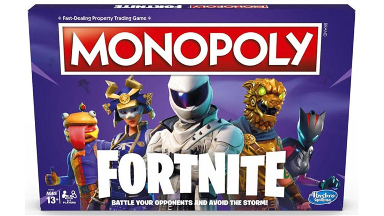 Hasbro namizna družabna igra Monopoly: Fortnite Edition (v angleščini)-550
