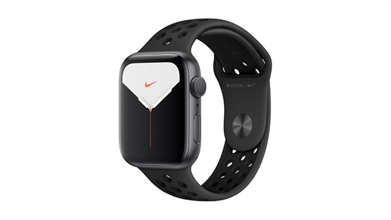 Apple Watch 5 (Nike) 44mm GPS Space Grey Aluminium z Anthracite/Black športnim paščkom (MX3W2VR/A) -584