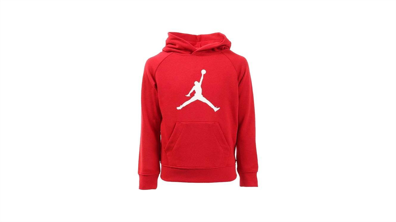 Rdeč Jordan pulover