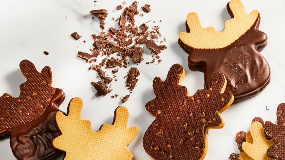 23 GourmetShop - Bozični piskoti Jelenček Rudolf