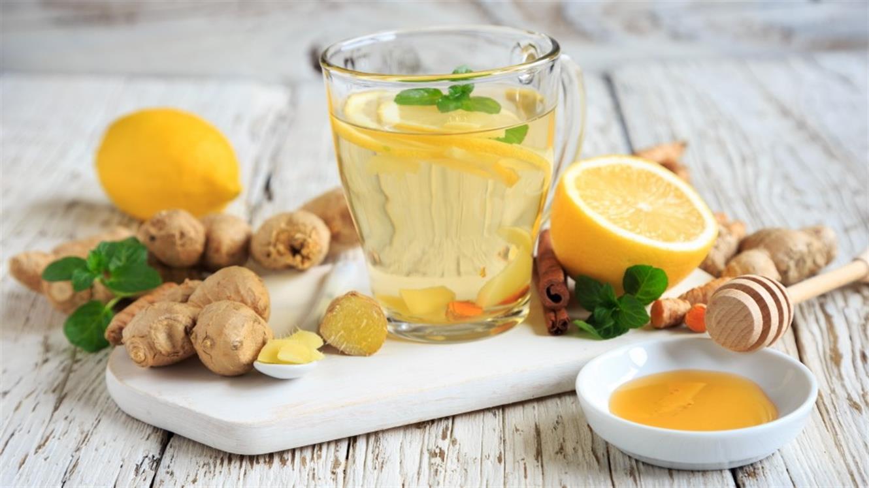 Začinjen ingverjev čaj